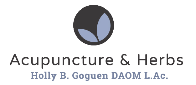 Holly Goguen L.Ac. Acupuncture - Logo